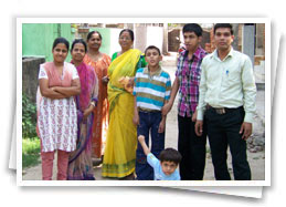 disabled children india, handicapped school, mother and child